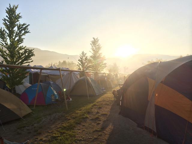 画像: ≪和朝食のススメ≫一汁三菜のバランスの取れた朝食をキャンプ場で味わう