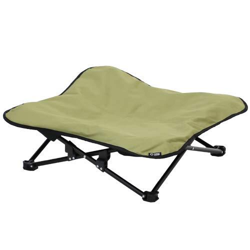 画像1: 犬も快適にキャンプしたい?クイックキャンプのドッグコットで犬連れキャンプ
