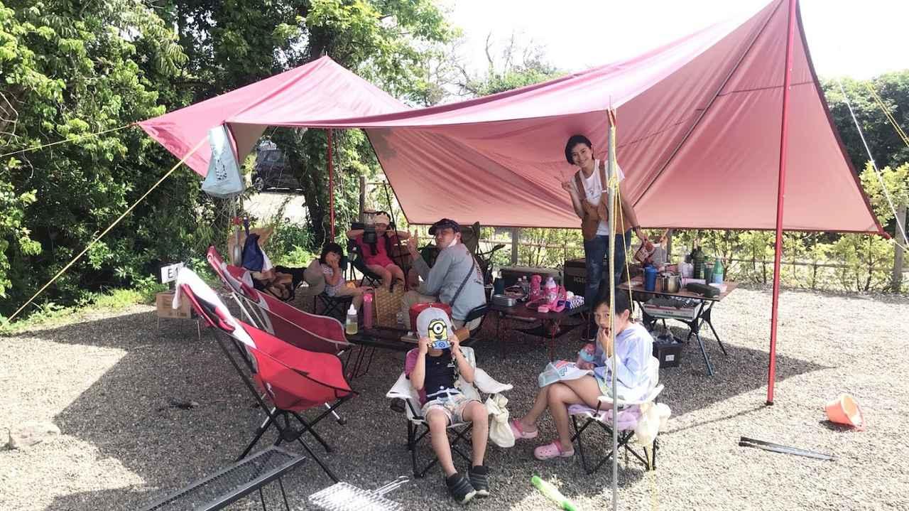 画像: 筆者撮影 わいわいグループキャンプは子どもも大人も楽しい!