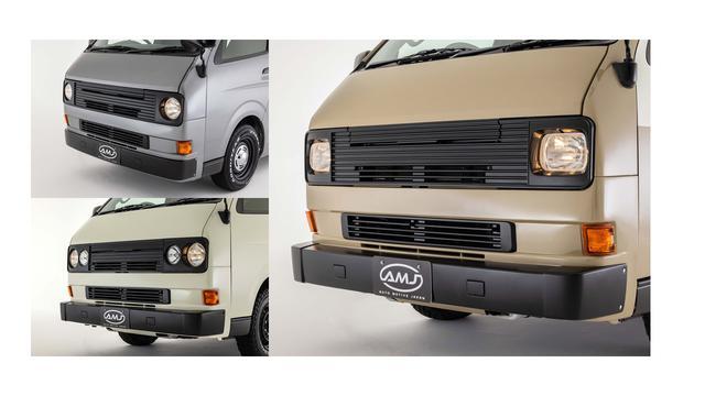 画像: VANACE(ヴァナス)は、『ヴァナゴン』のフロントフェイスを『ハイエース』のボディにくっつけたカスタム車