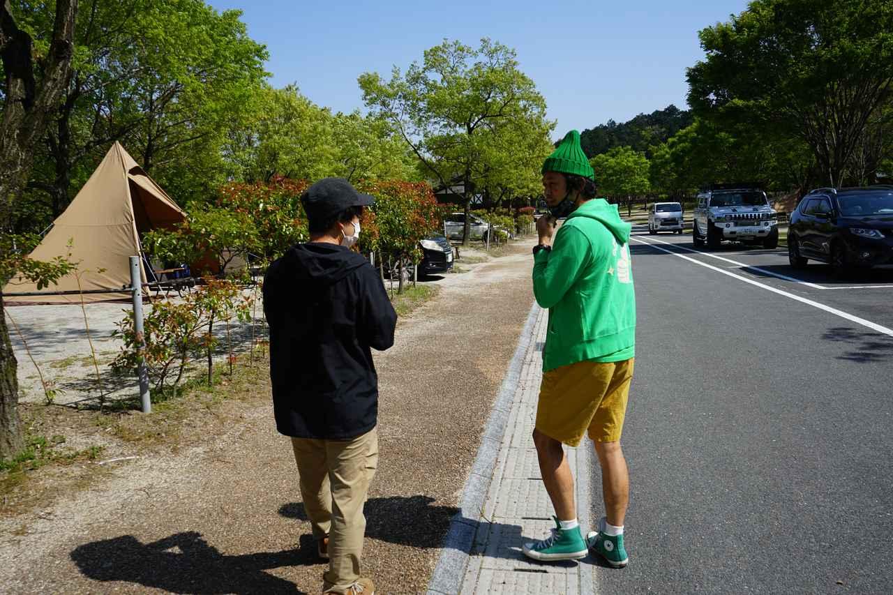 画像: ハピキャン編集部提供 青川峡キャンピングパークはスタッフが常駐しており、サイトの見回りも行っています。