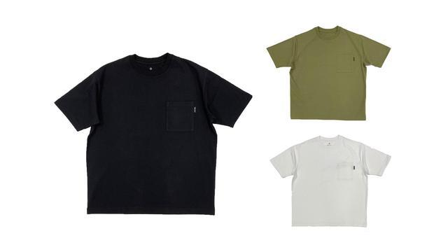 画像: Lock Printed Pocket T-Shirt シリーズ(3種のカラーラインナップ)