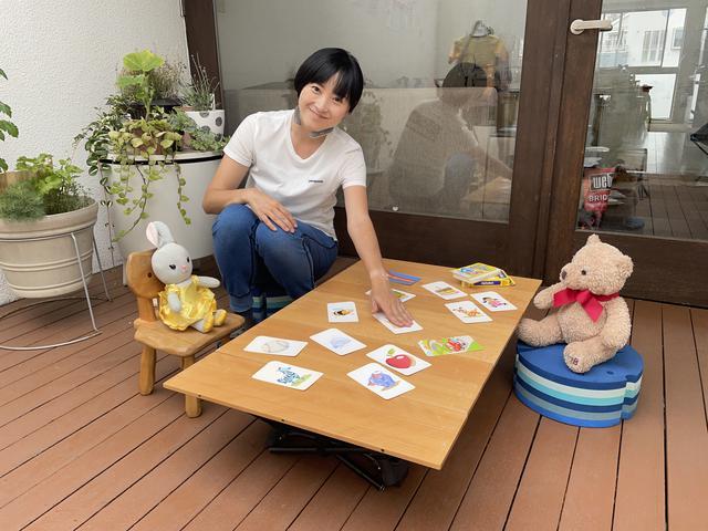 画像: 筆者撮影:一番低い「お座敷スタイル」ならカードゲームが盛り上がる〜!