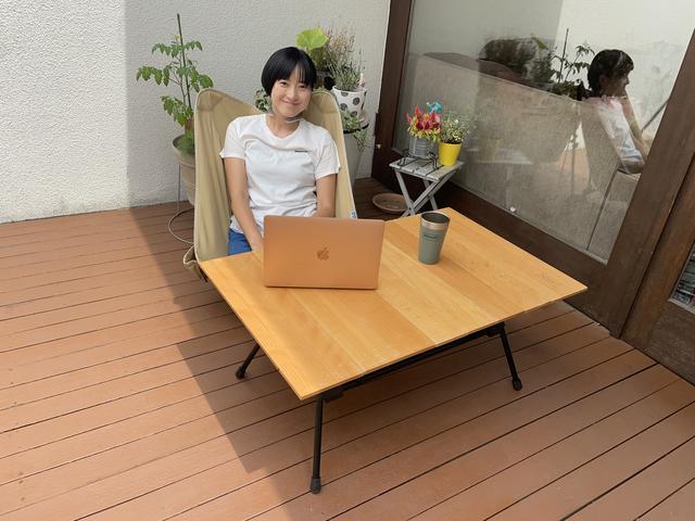 画像: 筆者撮影:リモートワークの個人スペースにもなりますよ〜!