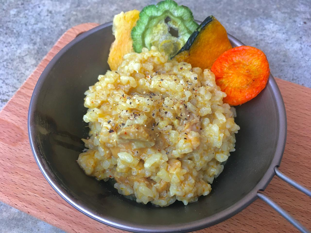 画像: 【簡単山ごはんレシピ】軽量化におすすめの「アルファ米」を使用したカレー飯をご紹介 - ハピキャン(HAPPY CAMPER)