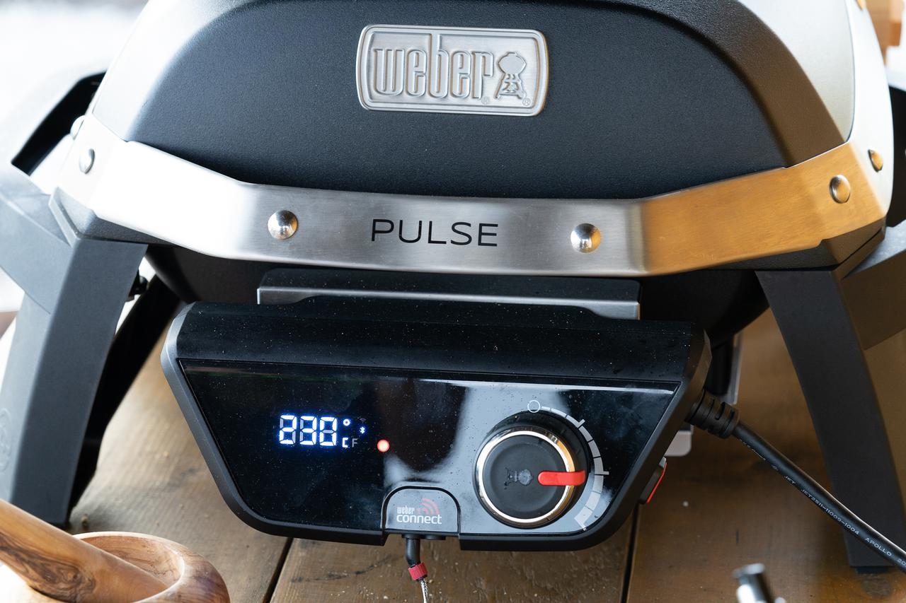 画像: 筆者撮影 電気グリル Weber Pulse 1000