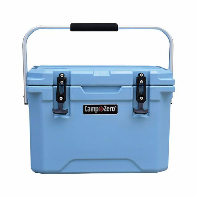 画像1: 【連泊ソロキャンプにおすすめ】コストコで買えるクーラーボックス「キャンプゼロ 20L ロトモールド」の保冷力を検証!
