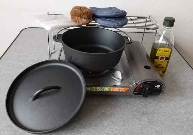 画像: ダッチオーブンのシーズニング方法解説! きちんとお手入れをすればサビも防げて長持ち - ハピキャン(HAPPY CAMPER)
