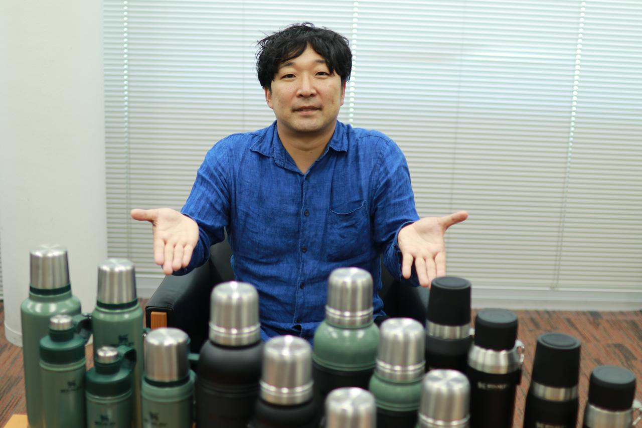 画像: 編集部撮影:スタンレーのPRを担当されている山本さん