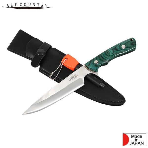 画像: ブッシュクラフトナイフは原幸治氏とA&Fがコラボレーションしたハンドメイドのナイフ