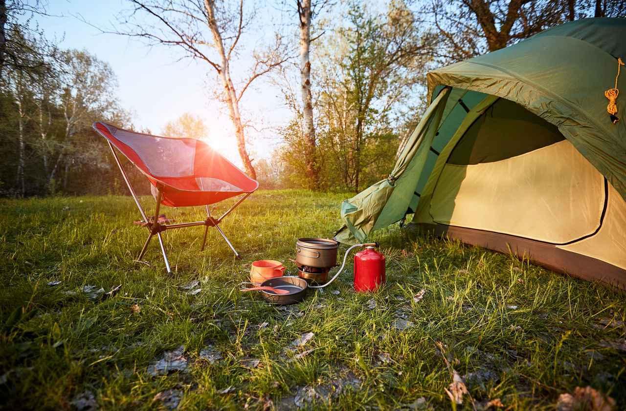 画像: CHUMS(チャムス)にポリコットン素材のテントが新登場 シンプルでおしゃれなツートンカラー