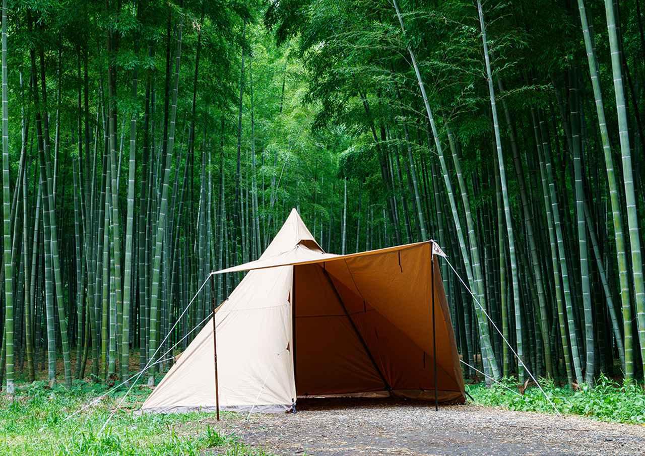 画像21: 夏キャンプが快適になる遮光性の高いタープ・シェード・テント13選! 遮光素材・コットン・TC素材がおすすめ