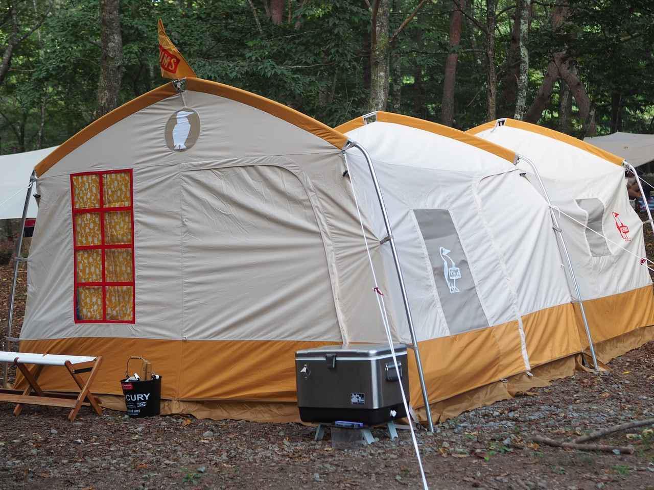 画像: ファミリーにおすすめ! CHUMS(チャムス)の「コヤテントT/C5」は自然の中に家を建てたみたいな快適テントだった! - ハピキャン|キャンプ・アウトドア情報メディア