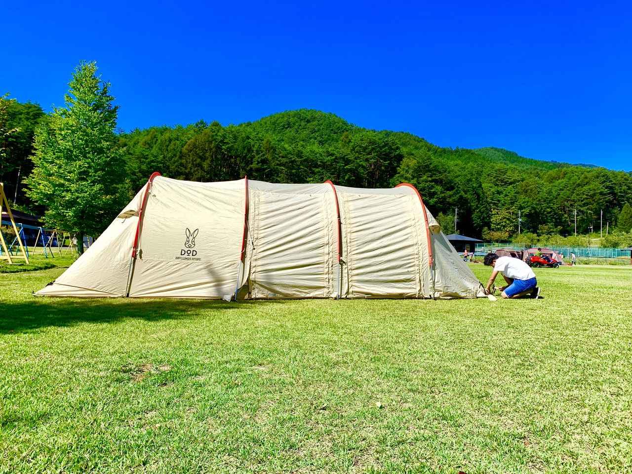 画像: 【DOD(ディーオーディー)のテントの選び方】5つのポイントを抑えて選ぼう!