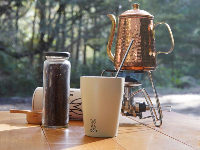画像: ホットコーヒーでほっとひと息