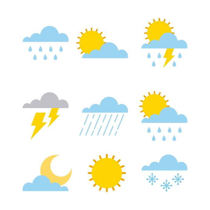 画像: ポイント【2】:天気予報の「天気マーク」の読み解き方