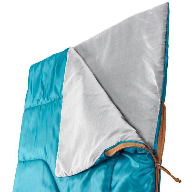 画像2: 【初夏〜秋の寝袋】デカトロン QUECHUA (ケシュア) 洗えるシュラフ ARPENAZ 20℃はキャンプデビューにオススメ!