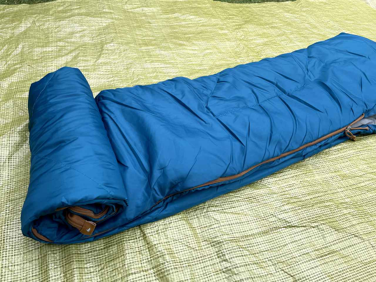 画像3: 【初夏〜秋の寝袋】デカトロン QUECHUA (ケシュア) 洗えるシュラフ ARPENAZ 20℃はキャンプデビューにオススメ!