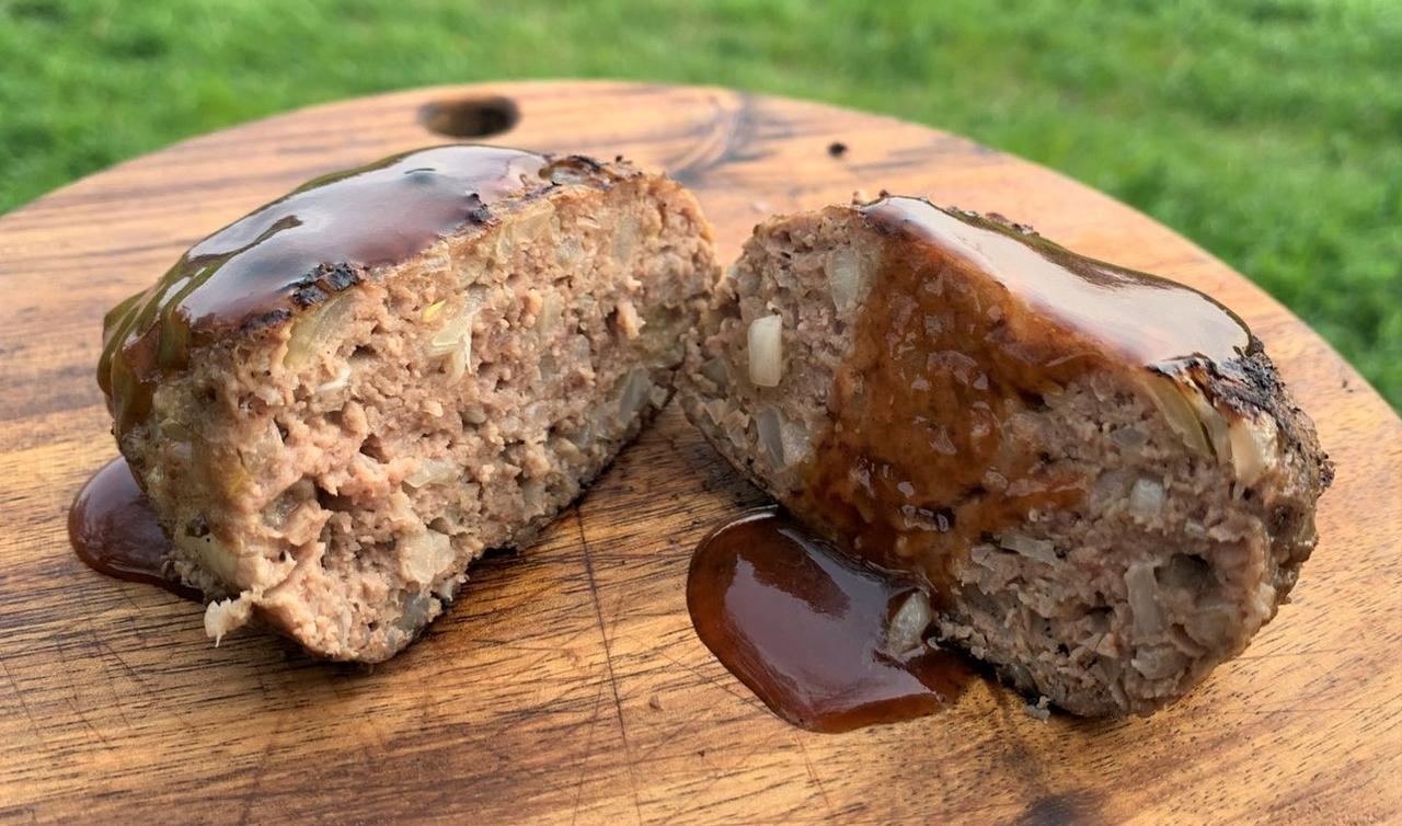 画像: 【簡単レシピ】キャンプ・バーベキューで格別に上手い!炭火焼きハンバーグを自作してみよう - ハピキャン キャンプ・アウトドア情報メディア