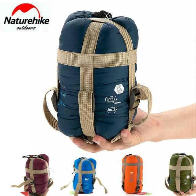 画像1: ネイチャーハイクの夏用寝袋「ミニウルトラライト スリーピングバッグ」が超コンパクト&軽くて快適!