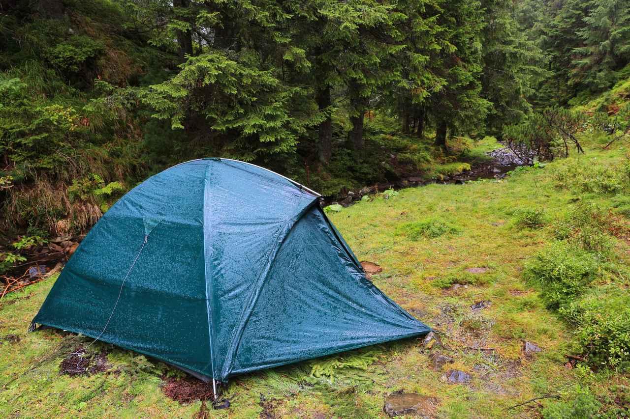 画像: 【ファミリー必見】雨の日でも楽しめるキャンプのコツ伝授 タープは必ず用意しよう! - ハピキャン キャンプ・アウトドア情報メディア