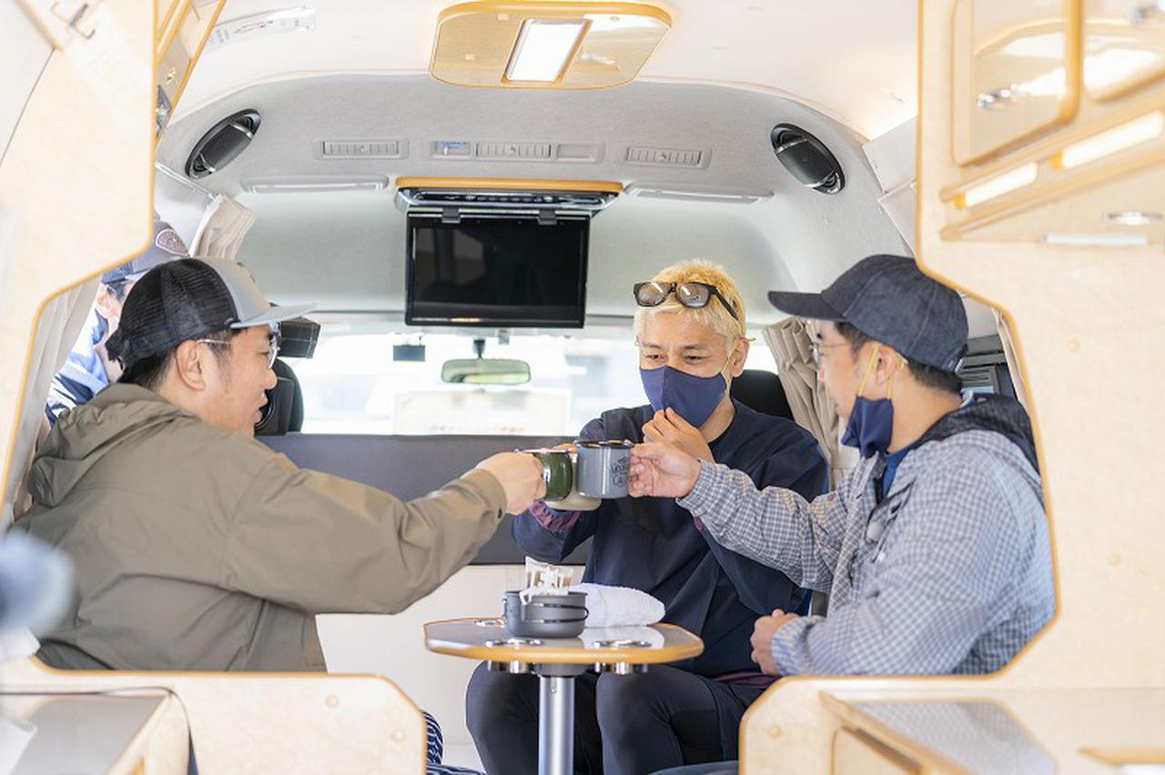 画像2: 【ハピキャンギア紹介】~ロンブー亮さんとカーキャンプ~に登場するギアをチェック!(マスクプレゼントあり) - ハピキャン|キャンプ・アウトドア情報メディア