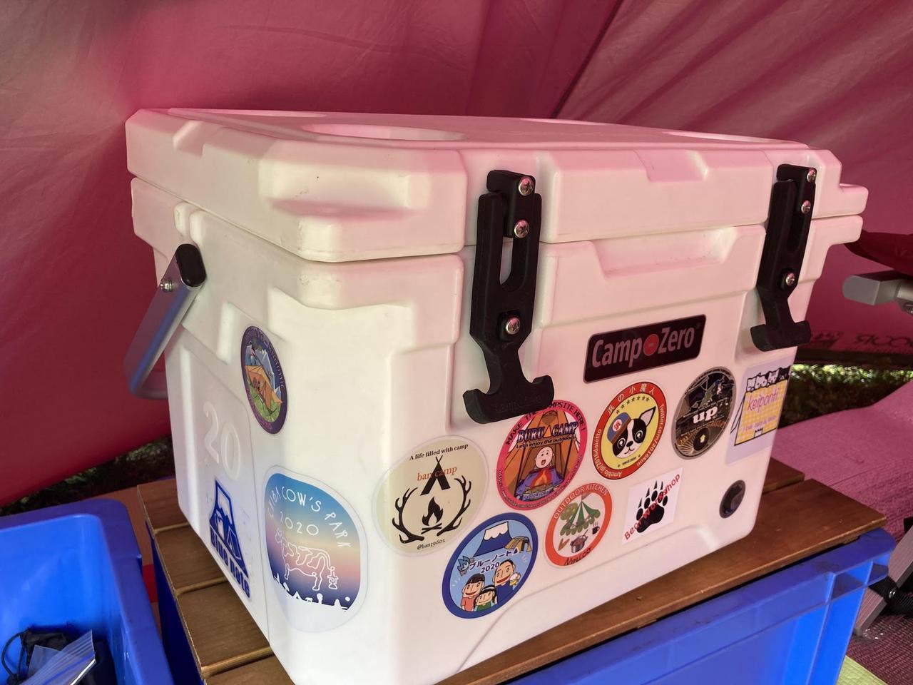 画像: 【連泊ソロキャンプにおすすめ】コストコで買えるクーラーボックス「キャンプゼロ 20L ロトモールド」の保冷力を検証! - ハピキャン|キャンプ・アウトドア情報メディア