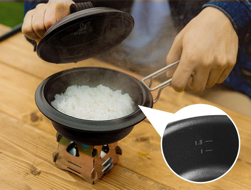 画像: 2. 固形燃料を使ってほったらかし炊飯