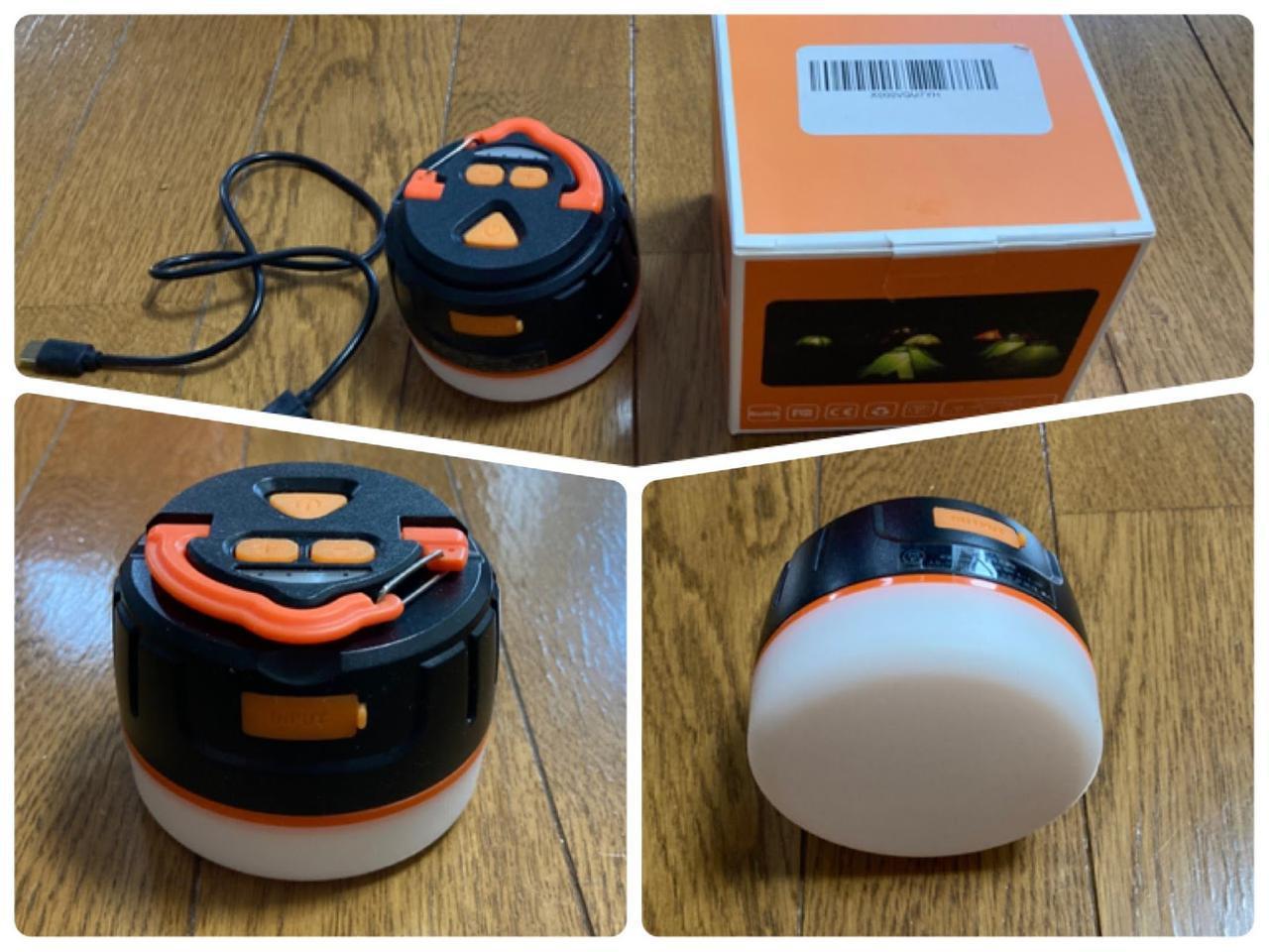 画像: 充電式「BRISIEリモコン付きLEDランタン」をレビュー! リモコン付きで寝ながら操作可能 - ハピキャン キャンプ・アウトドア情報メディア