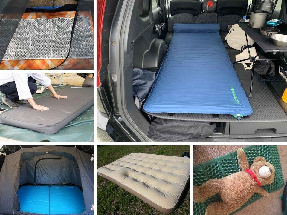 画像: 【まとめ】キャンプ&車中泊で使える! マットのおすすめ6選 選び方も解説 - ハピキャン キャンプ・アウトドア情報メディア