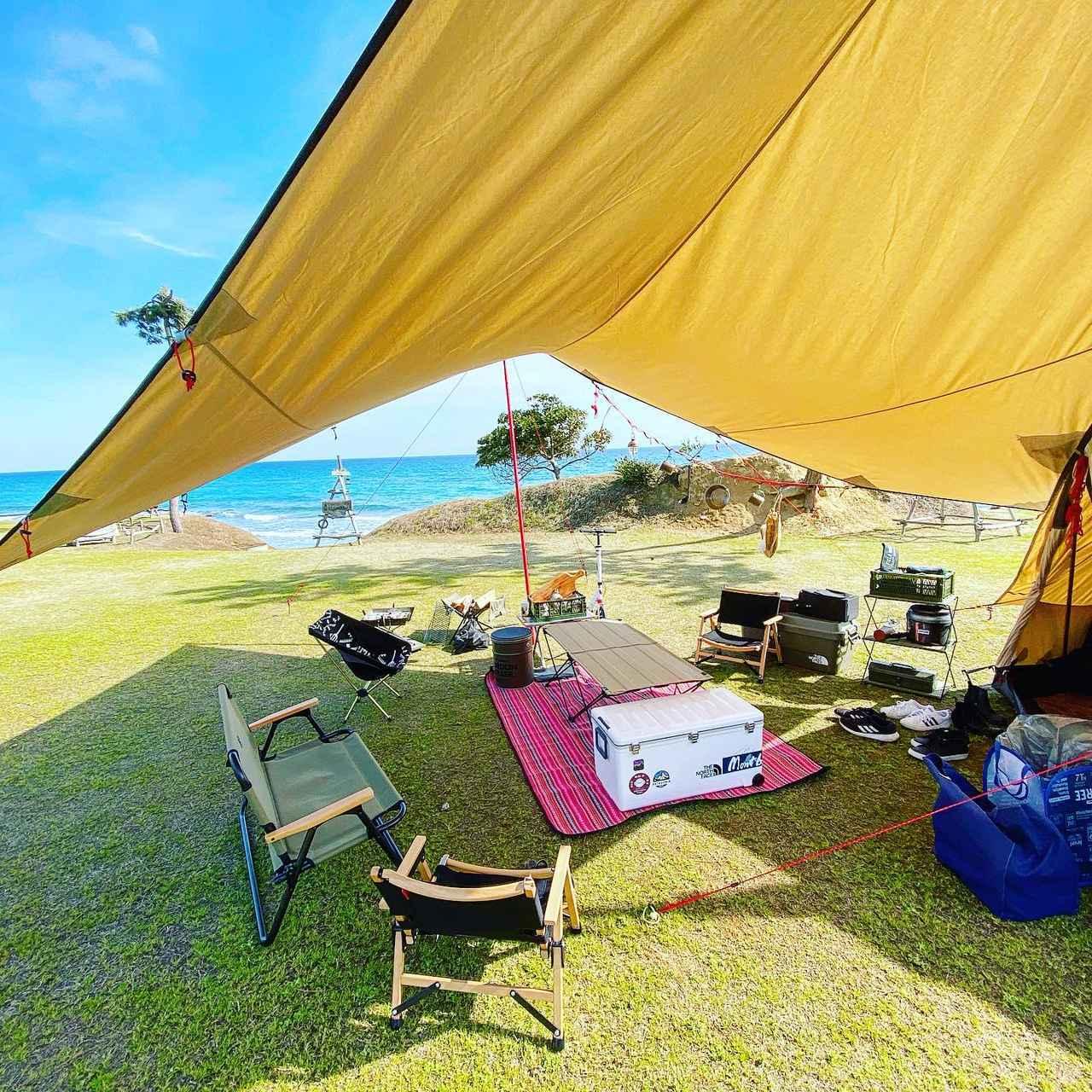 画像: 夏キャンプにはTC素材タープがオススメ!日差しを遮り火の粉にも強くて優秀 - ハピキャン|キャンプ・アウトドア情報メディア