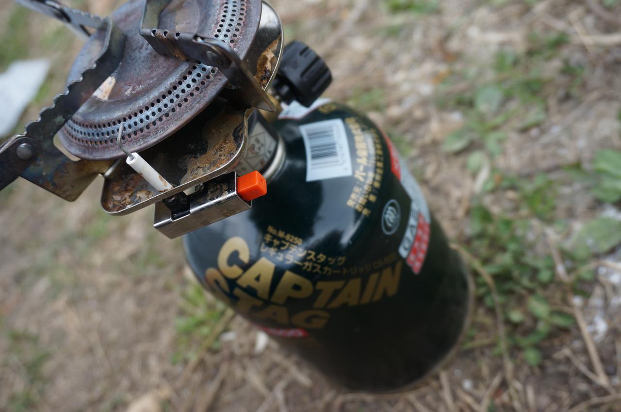 画像: 【筆者愛用】キャプテンスタッグ「小型ガスバーナーコンロ」はコスパ最高で初心者に最適! - ハピキャン|キャンプ・アウトドア情報メディア