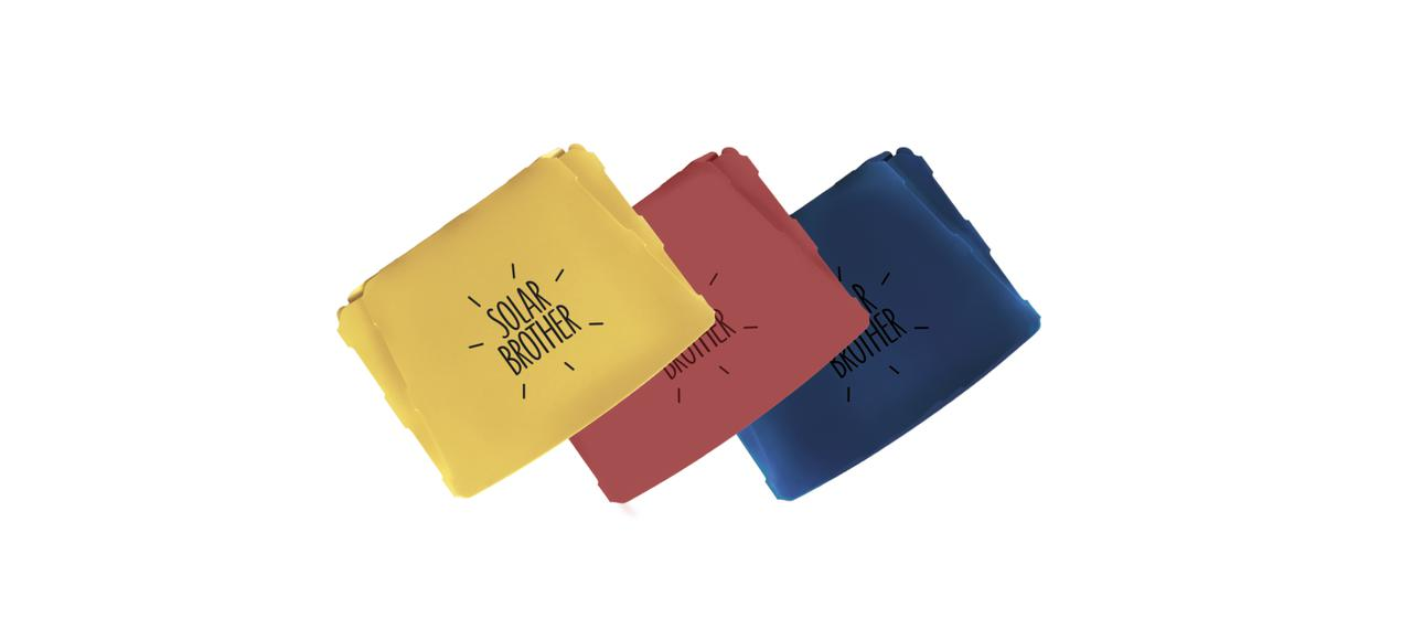 画像: 黄、赤、青の3色となったNEWサングッド