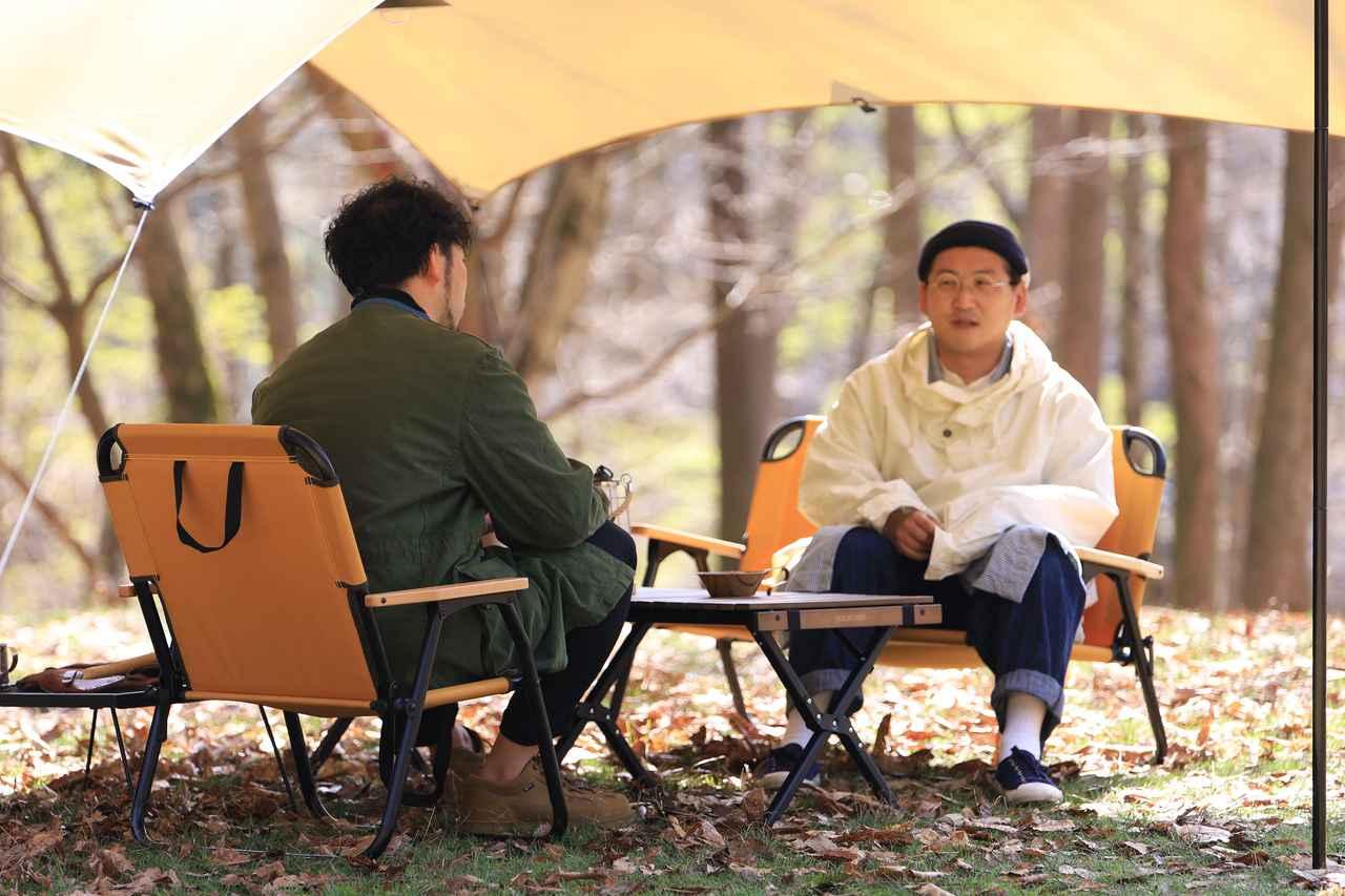 画像2: キャンプサイトに馴染むカラーリング