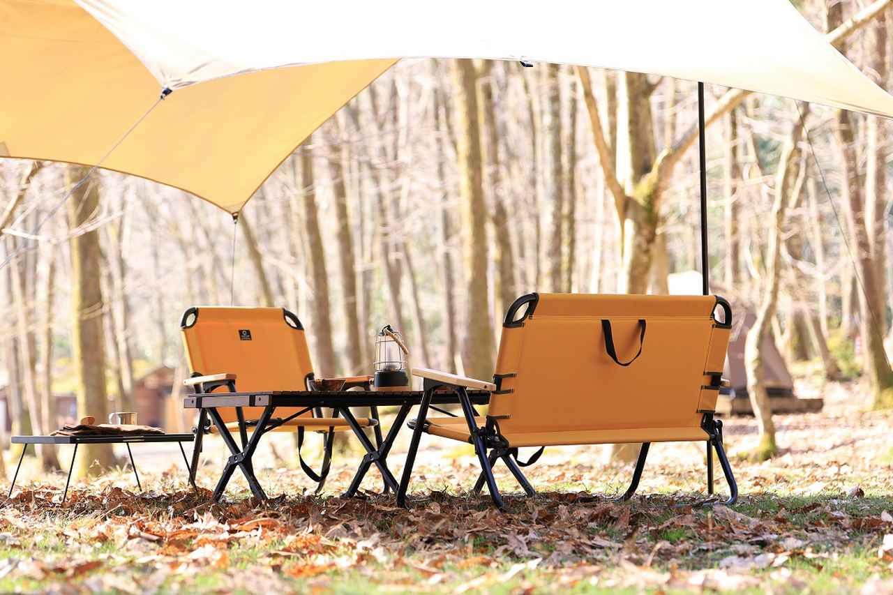 画像1: キャンプサイトに馴染むカラーリング