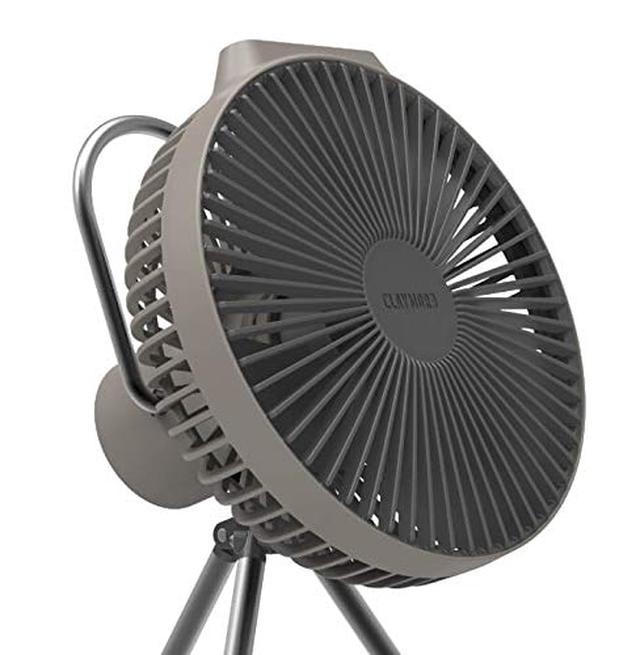 画像1: キャンプにおすすめの扇風機! 『CLAYMORE FAN V600+』を徹底レビュー