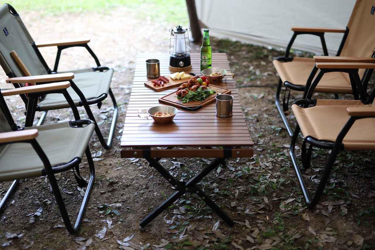 画像: 【注目リリース】ロースタイルキャンプにぴったり。QUICKCAMP(クイックキャンプ)からウッドフレームチェアと、ウッドローテーブルが登場。 - ハピキャン|キャンプ・アウトドア情報メディア