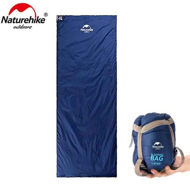 画像2: ネイチャーハイクの夏用寝袋「ミニウルトラライト スリーピングバッグ」が超コンパクト&軽くて快適!