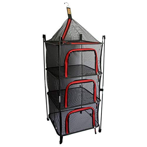 画像1: 「コールマン ハンギングドライネット2」を紹介!キャンプでの食器乾燥&食器棚として大活躍!虫もシャットアウト