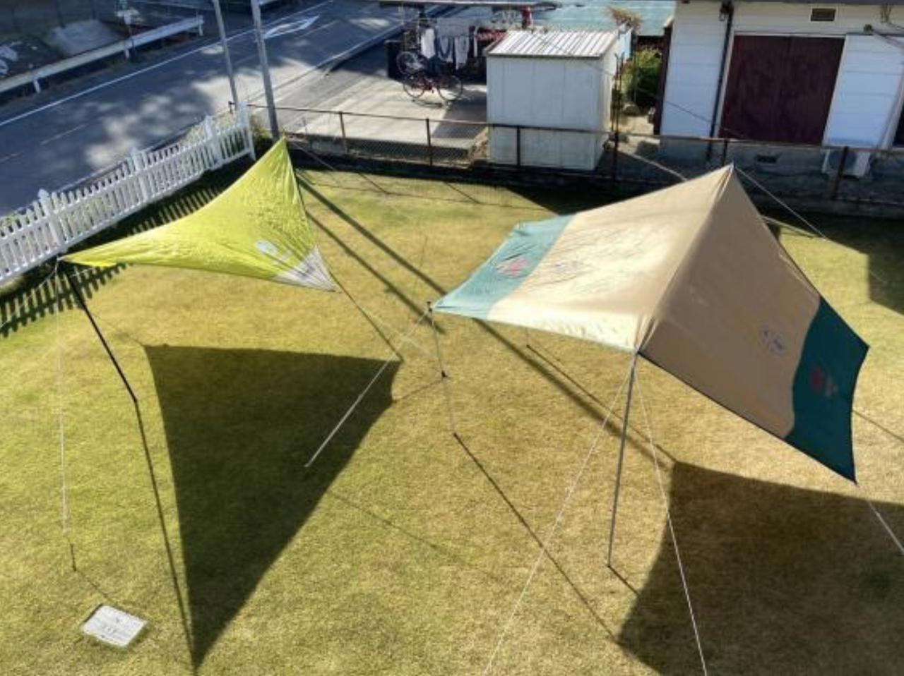 画像: 【キャンプの基本シリーズ3】自在金具の使い方を含めた『タープの張り方』 - ハピキャン|キャンプ・アウトドア情報メディア