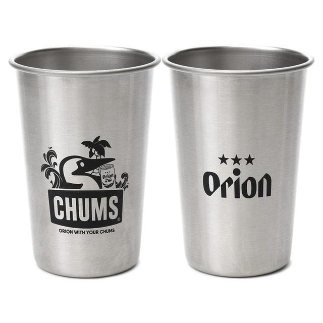 画像3: CHUMSxORIONがコラボTシャツ+パイントカップ発売!この夏はオリオンビールとチャムスでアウトドアを楽しもう!