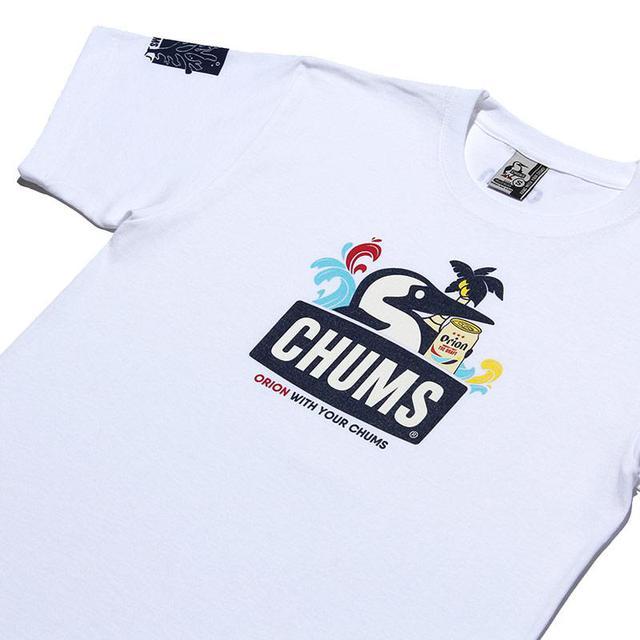 画像4: CHUMSxORIONがコラボTシャツ+パイントカップ発売!この夏はオリオンビールとチャムスでアウトドアを楽しもう!