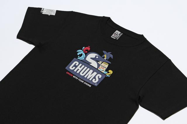 画像: CHUMS×ORION コラボTシャツ