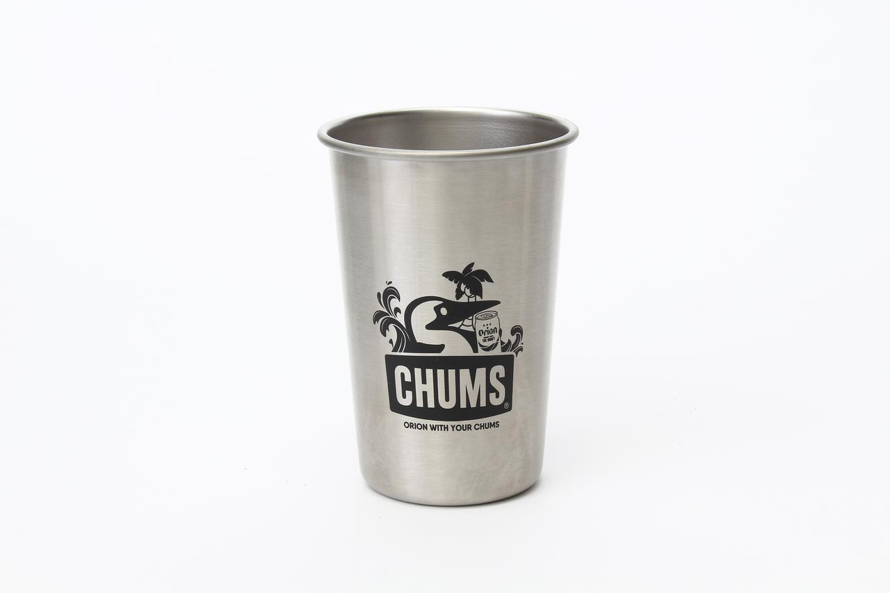 画像1: CHUMSxORIONがコラボTシャツ+パイントカップ発売!この夏はオリオンビールとチャムスでアウトドアを楽しもう!