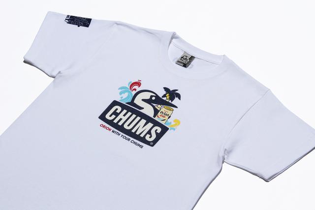 画像: CHUMSxORIONコラボアイテムは「Tシャツ」と「パイントカップ」の2種展開