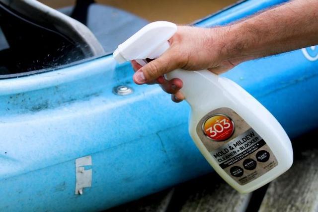 画像2: 【アメリカ在住ライター愛用】キャンプギアを水&汚れから守る!すごい強力防水スプレー「303ファブリックガード」