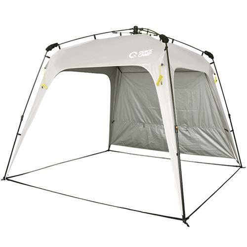 画像1: クイックキャンプのタープ・テーブル・チェアを検証! 家族デイキャンプで使ってみた