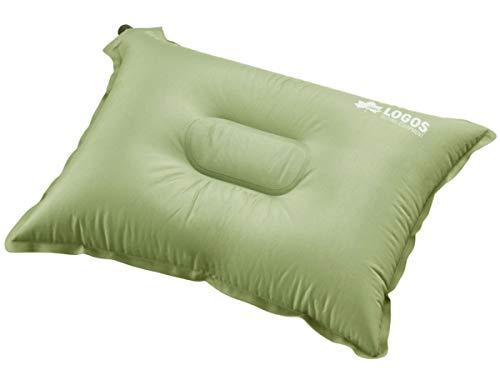画像1: キャンプの枕でお悩みのあなたへ! ロゴスの『セルフインフレートまくら』が超快適