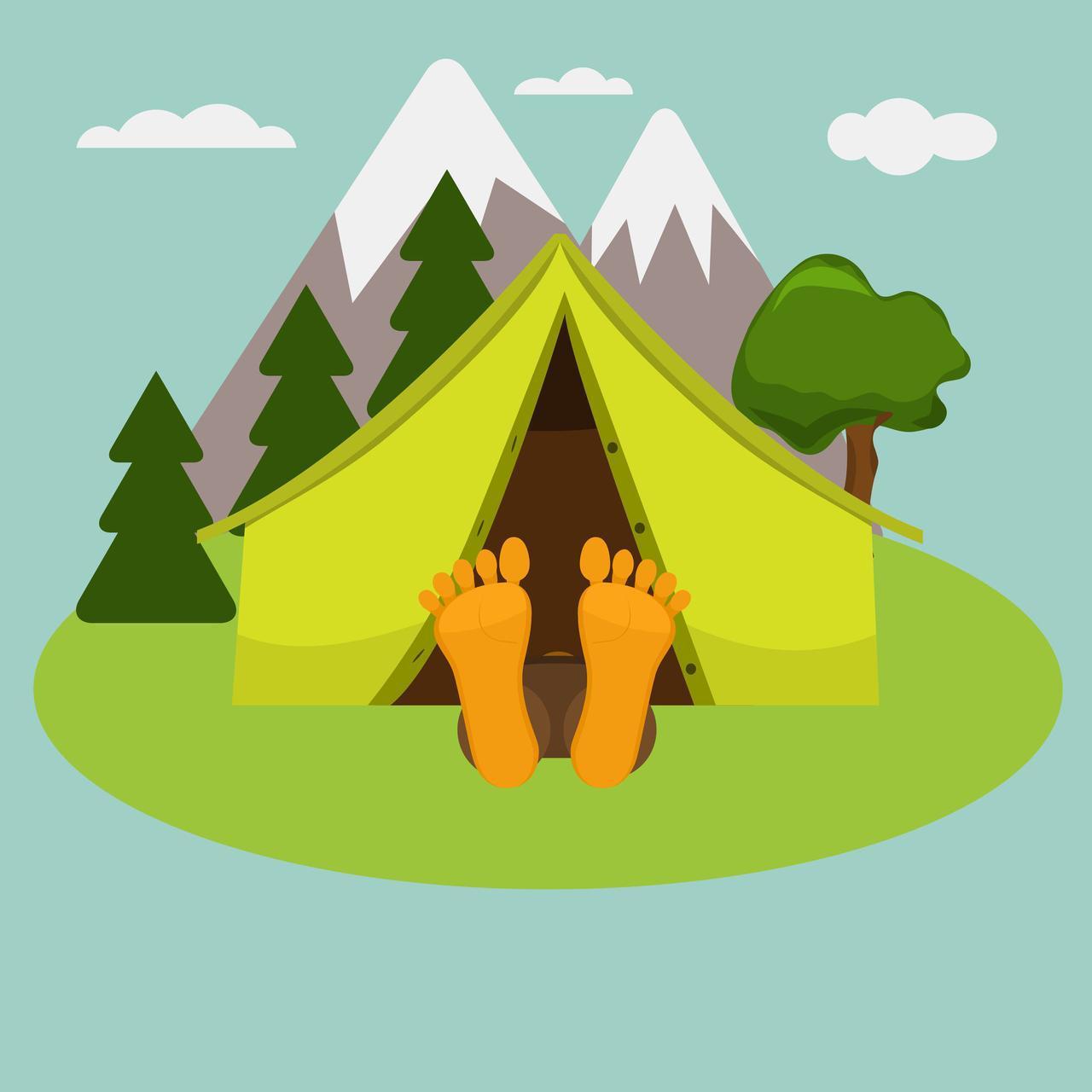 画像: 【ぐっすり眠れる】キャンプに快適な寝床作りのコツ 良質な睡眠を取る方法は? - ハピキャン|キャンプ・アウトドア情報メディア