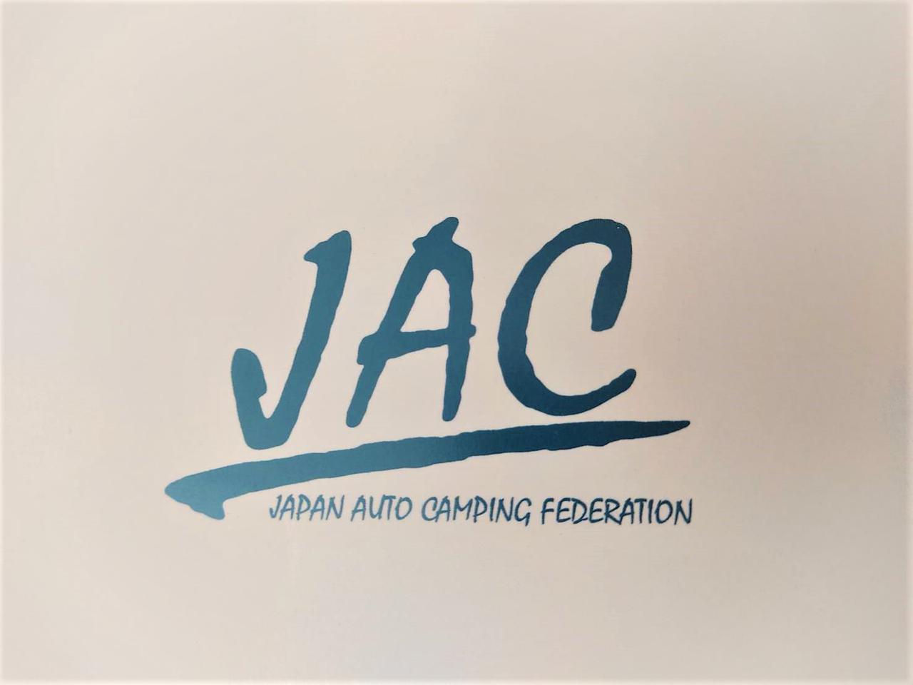 画像: 筆者撮影 日本オートキャンプ協会のロゴ